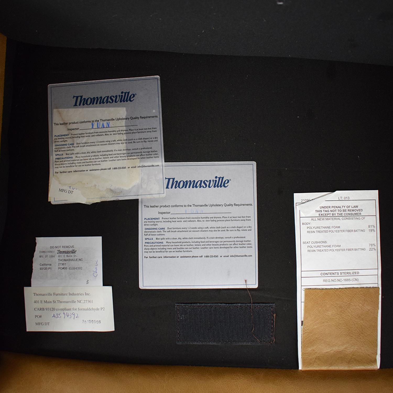 Thomasville Leather Armchair sale