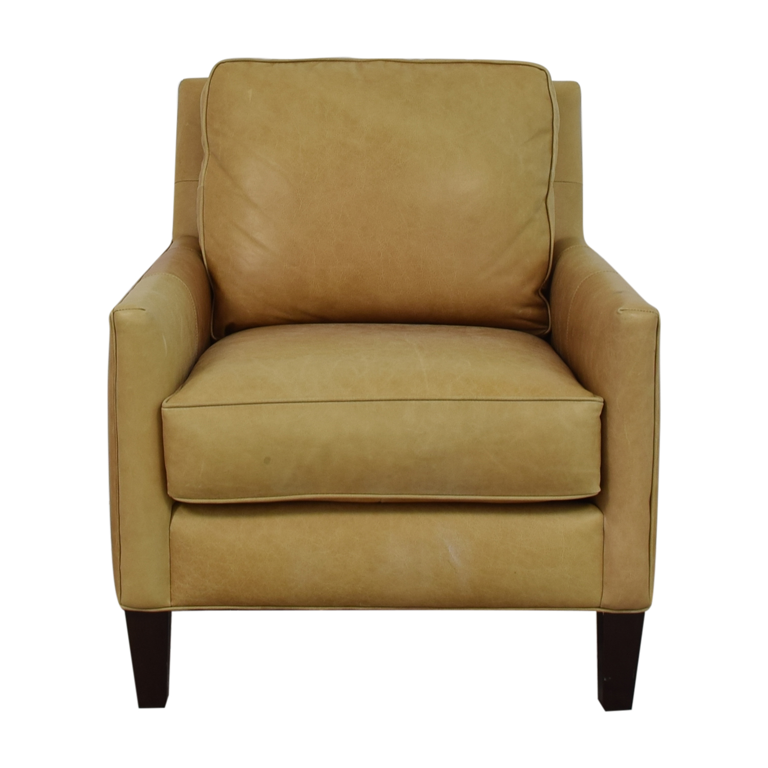 Thomasville Leather Armchair / Chairs