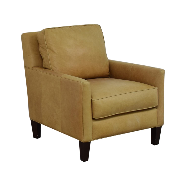 buy Thomasville Thomasville Leather Armchair online