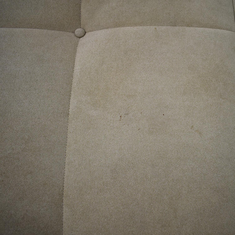 buy Ligne Roset Upholstered Square Ottoman Ligne Roset
