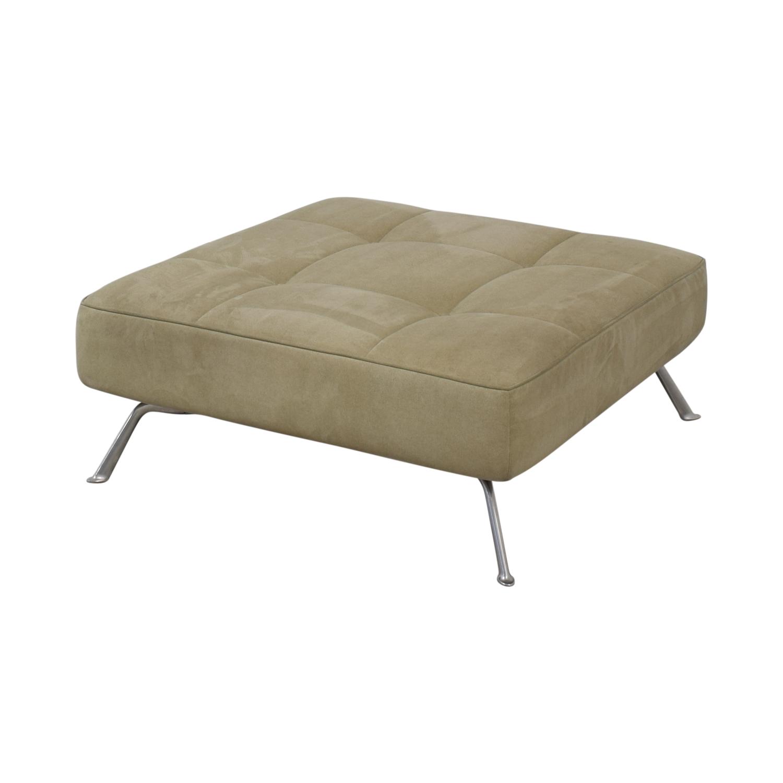 buy Ligne Roset Upholstered Square Ottoman Ligne Roset Chairs