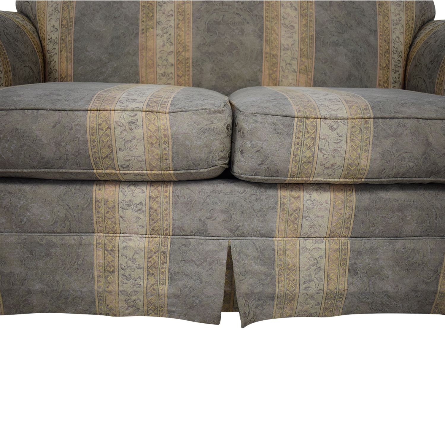 Thomasville Thomasville Impressions Regency Style Loveseat dimensions