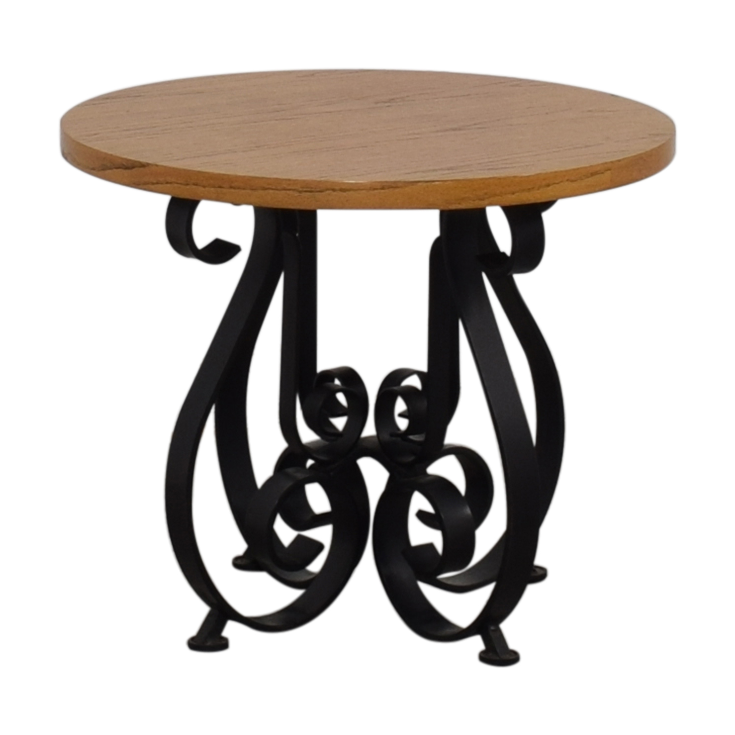 Round End Table on sale