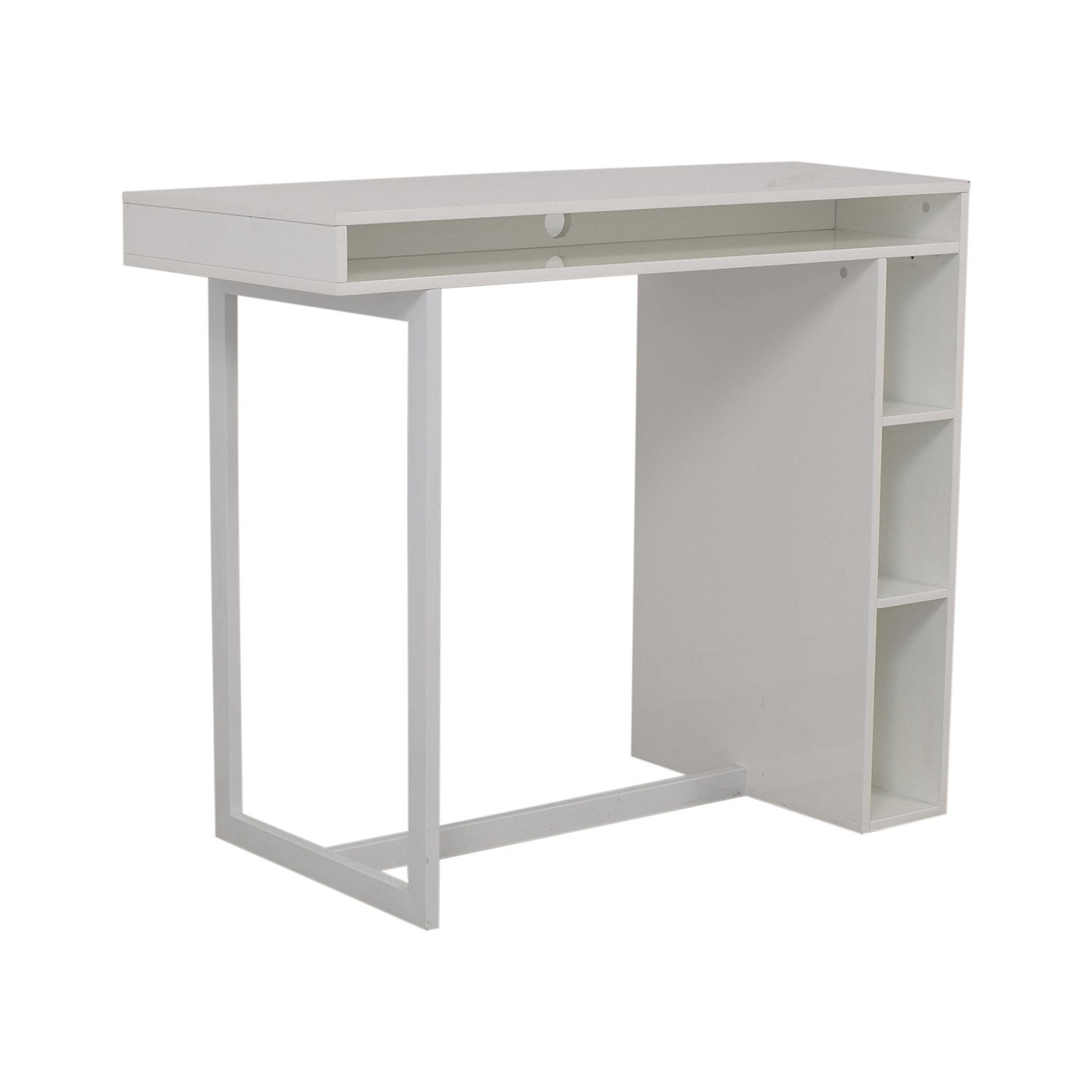 shop CB2 CB2 Public White Counter Dining Table online
