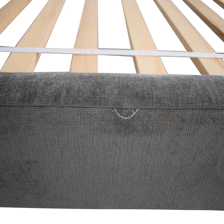 buy West Elm Andes Deco Upholstered Full Bed West Elm Bed Frames