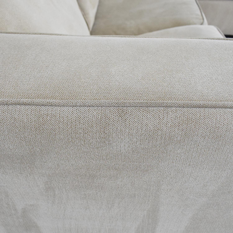Bauhaus Furniture Bauhaus Furniture Queen Sleeper Sofa Sectional with Chaise tan