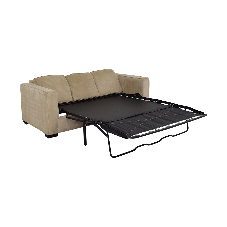shop Bauhaus Furniture Queen Sleeper Sofa Sectional with Chaise Bauhaus Furniture