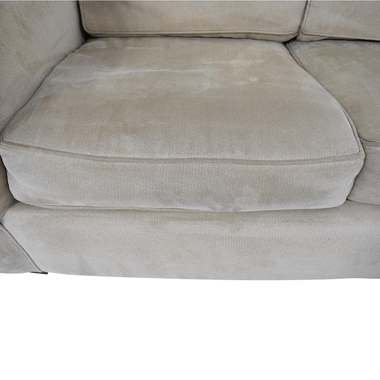 shop Bauhaus Furniture Bauhaus Furniture Queen Sleeper Sofa Sectional with Chaise online