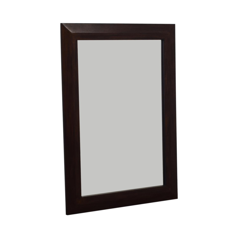 Crate & Barrel Crate & Barrel Wooden Framed Mirror coupon