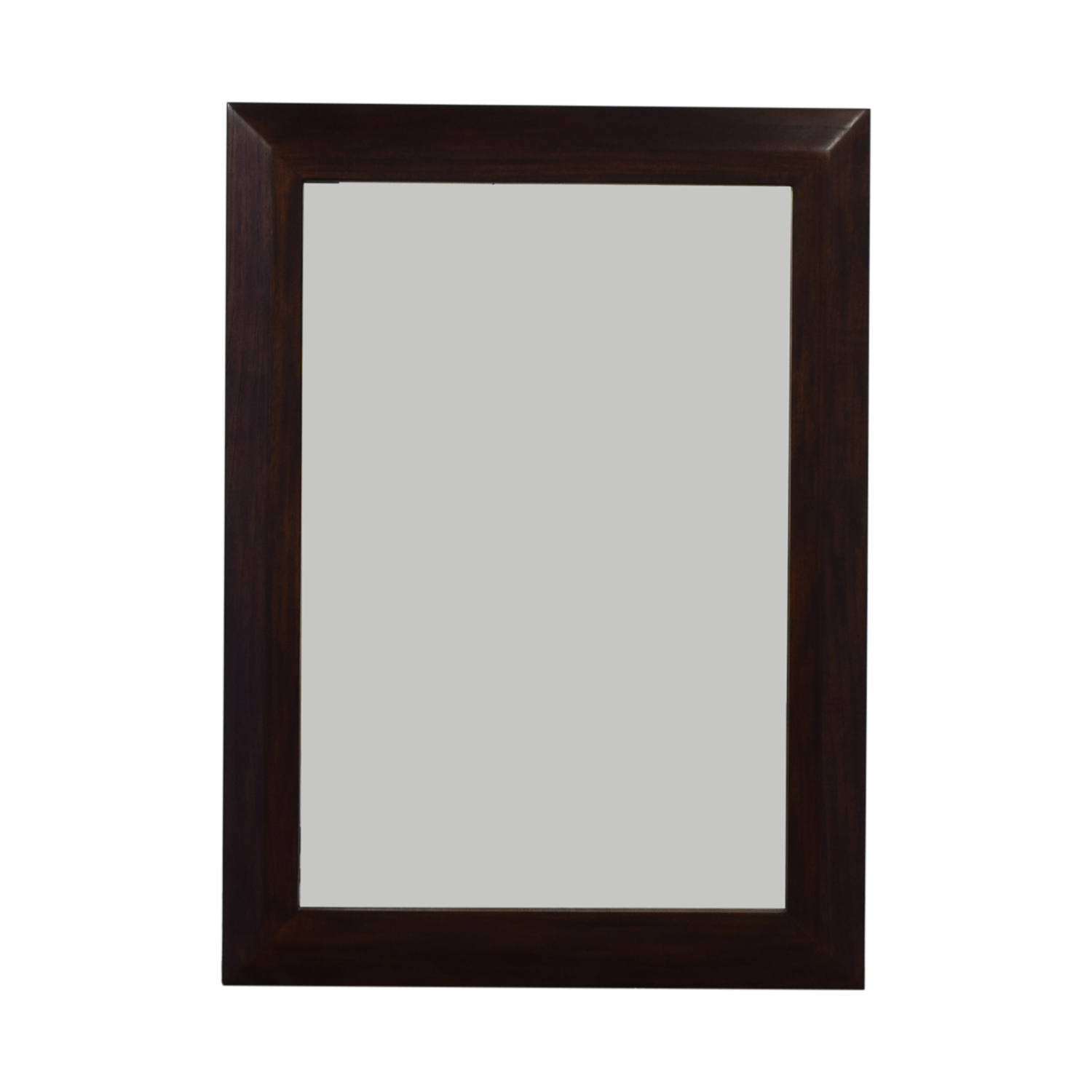 shop Crate & Barrel Wooden Framed Mirror Crate & Barrel