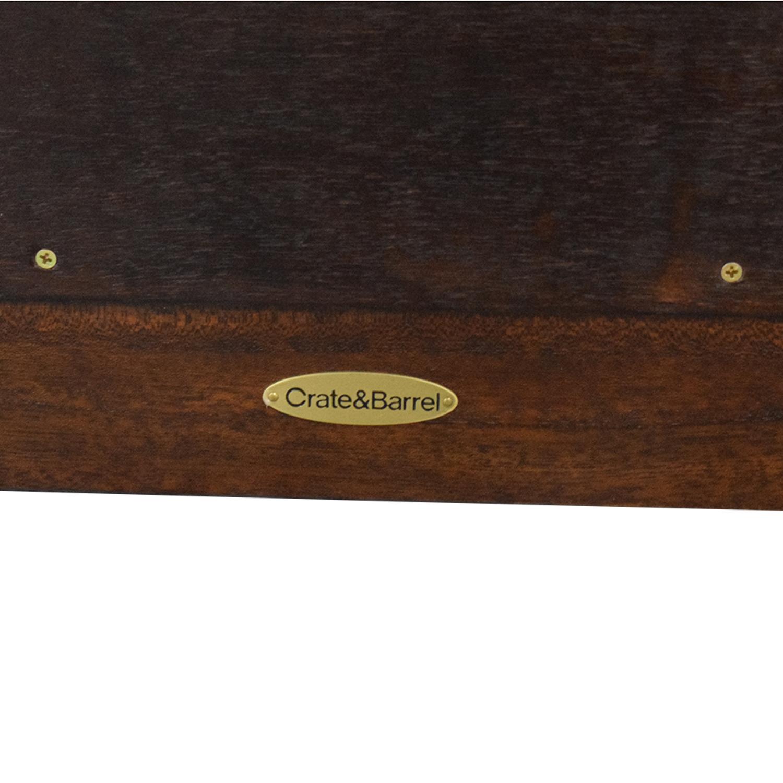 buy Crate & Barrel Wooden Framed Mirror Crate & Barrel Decor