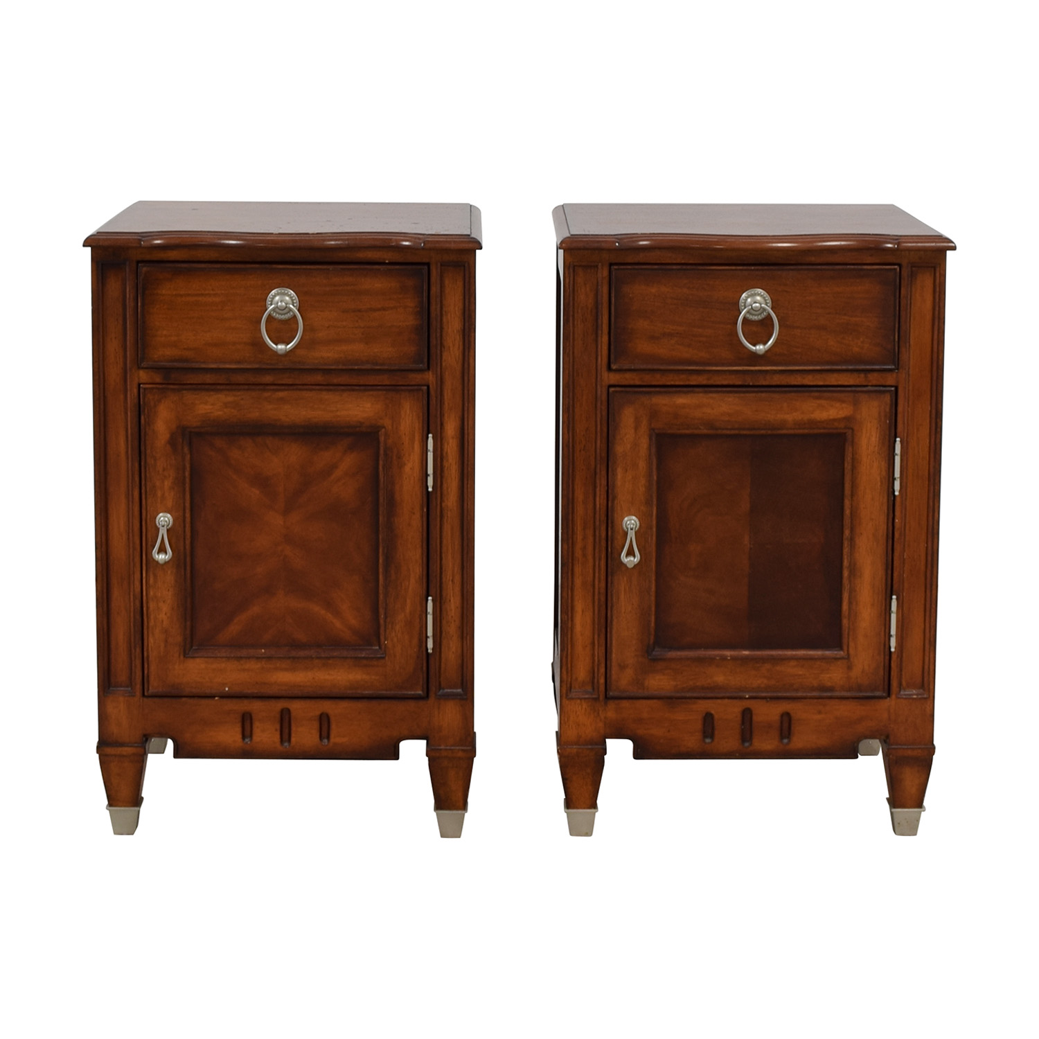 Ethan Allen Liz Claiborne Nightstands on sale