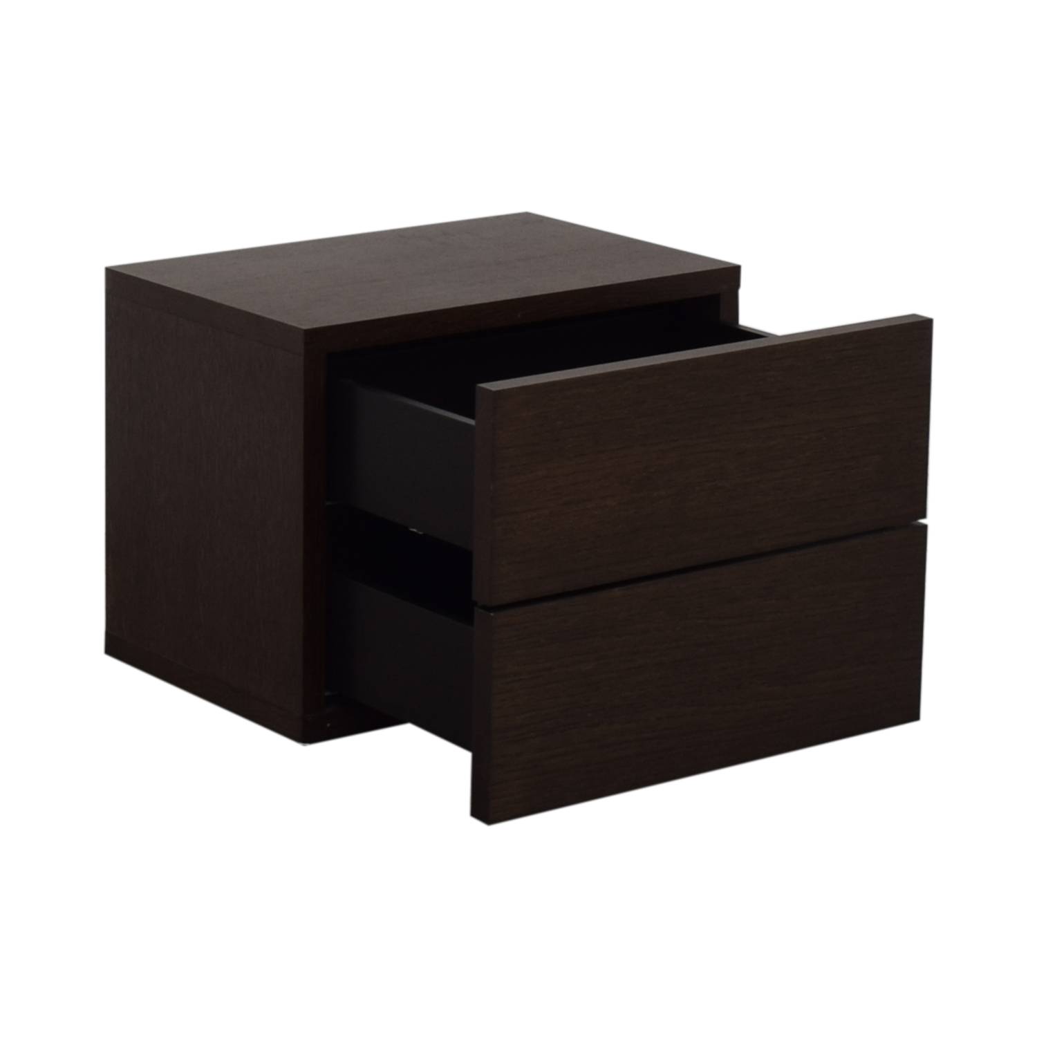 West Elm Two Drawer Nightstand / Tables