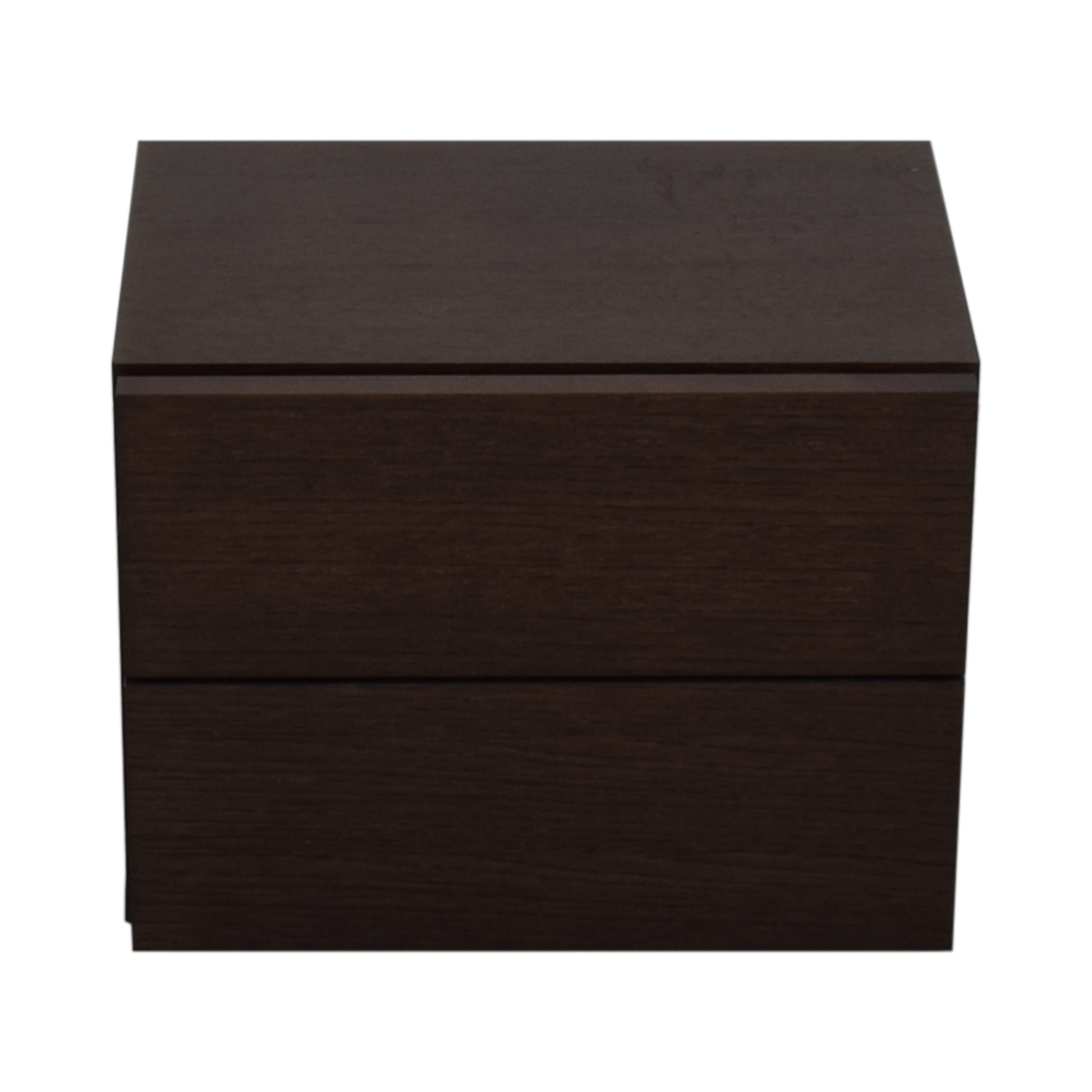 West Elm Two Drawer Nightstand / End Tables