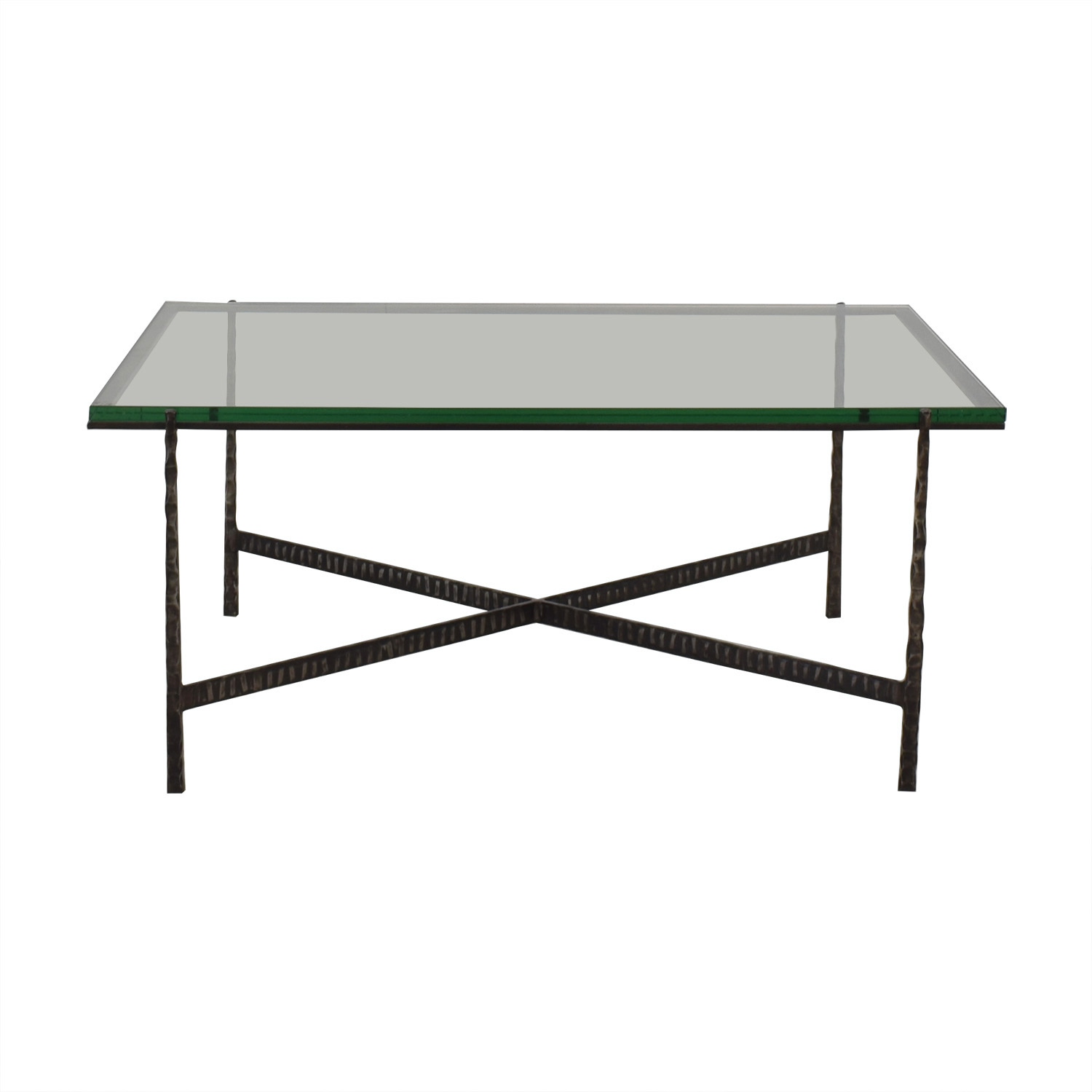 buy Crate & Barrel Glass Top Coffee Table Crate & Barrel Coffee Tables