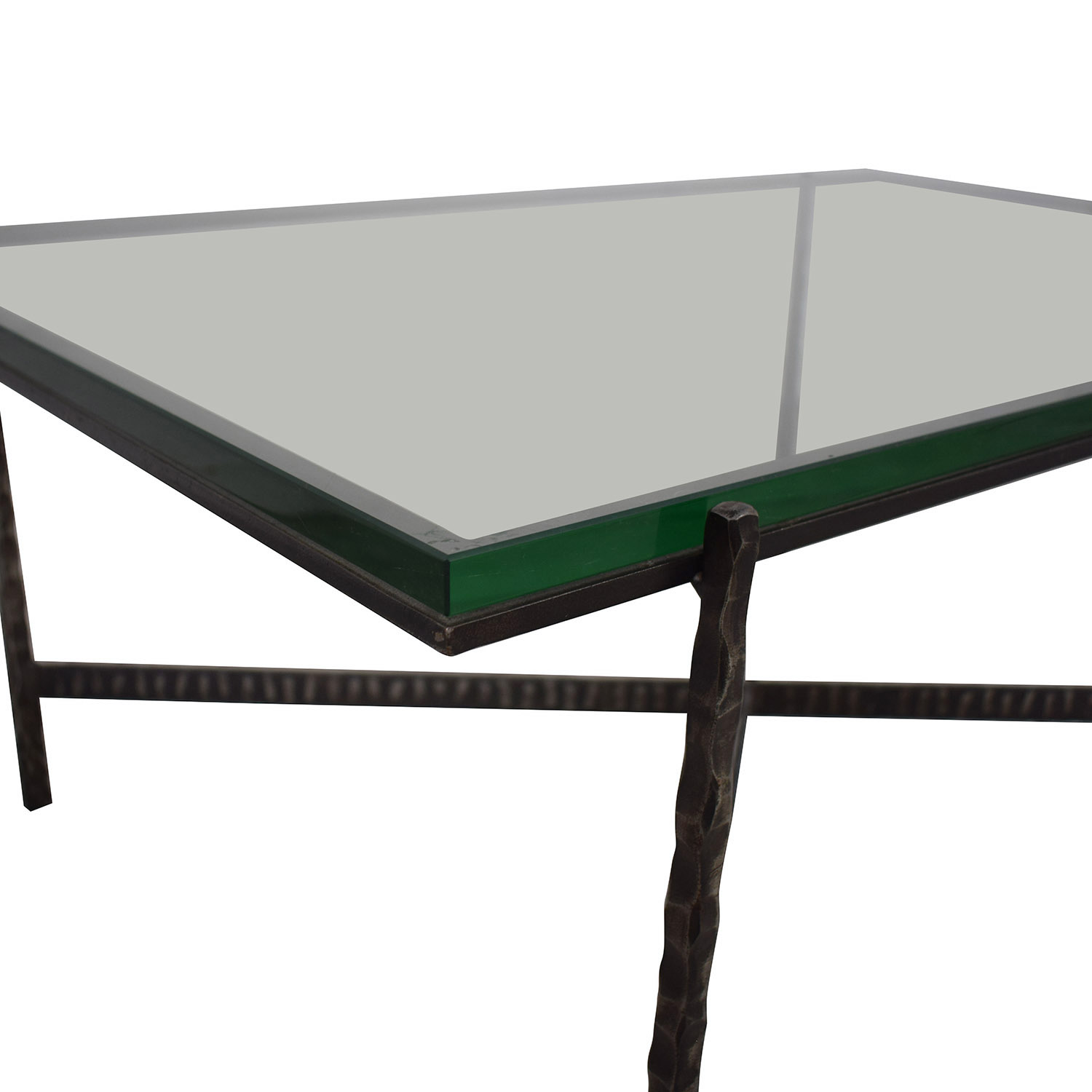 shop Crate & Barrel Glass Top Coffee Table Crate & Barrel Coffee Tables
