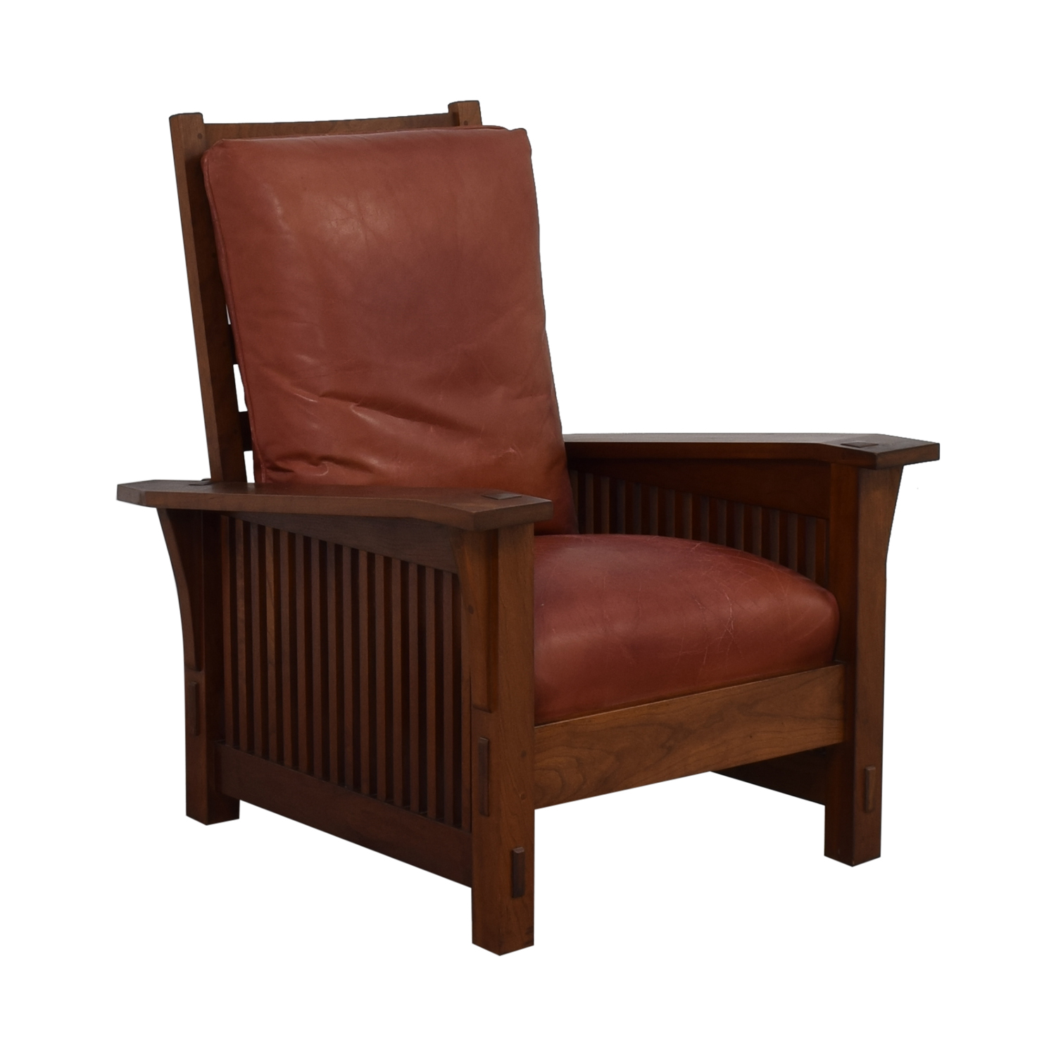buy Stickley Spindle Morris Chair Stickley Furniture