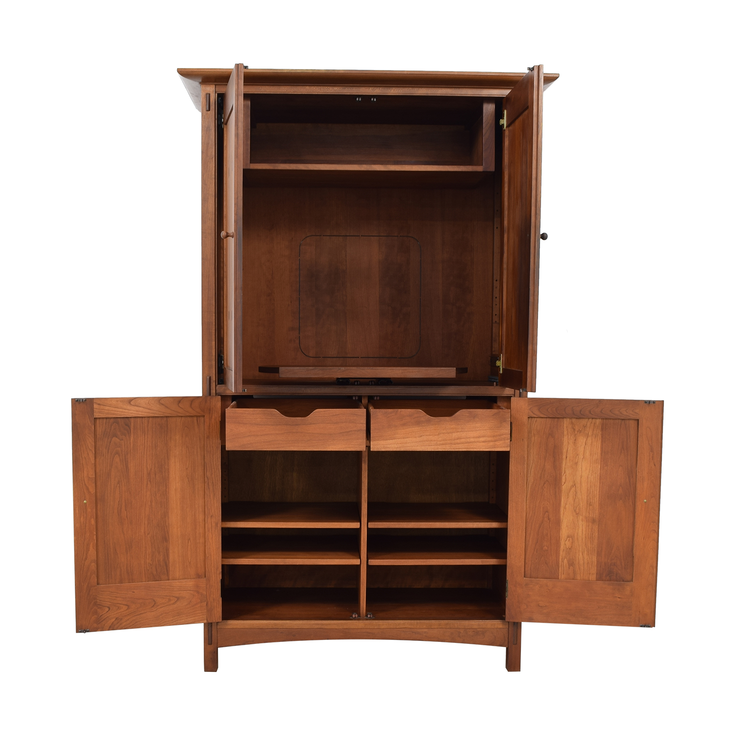 Stickley Furniture Stickley Furniture Mission Armoire Brown