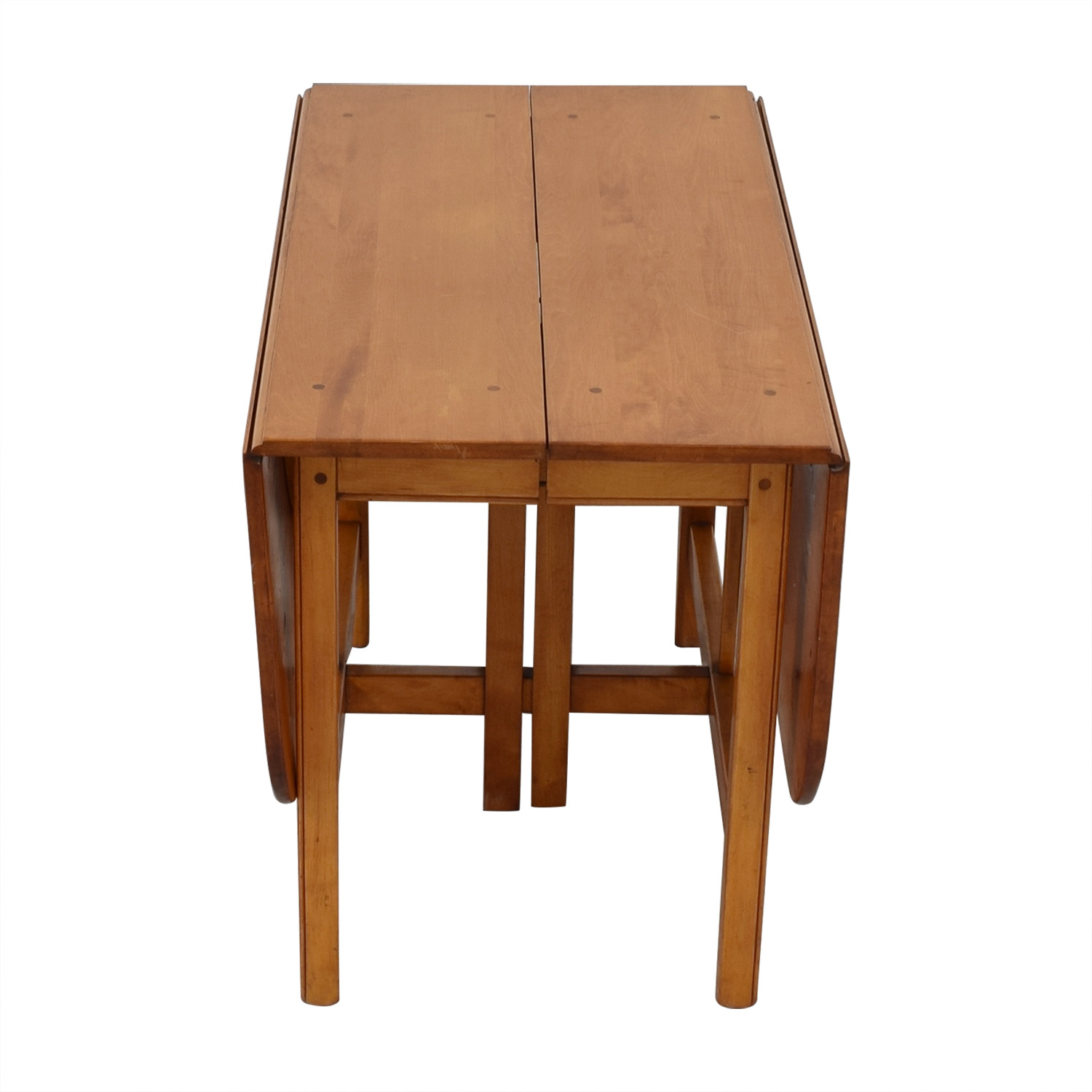 buy Drop Leaf Solid Maple Dinner Table