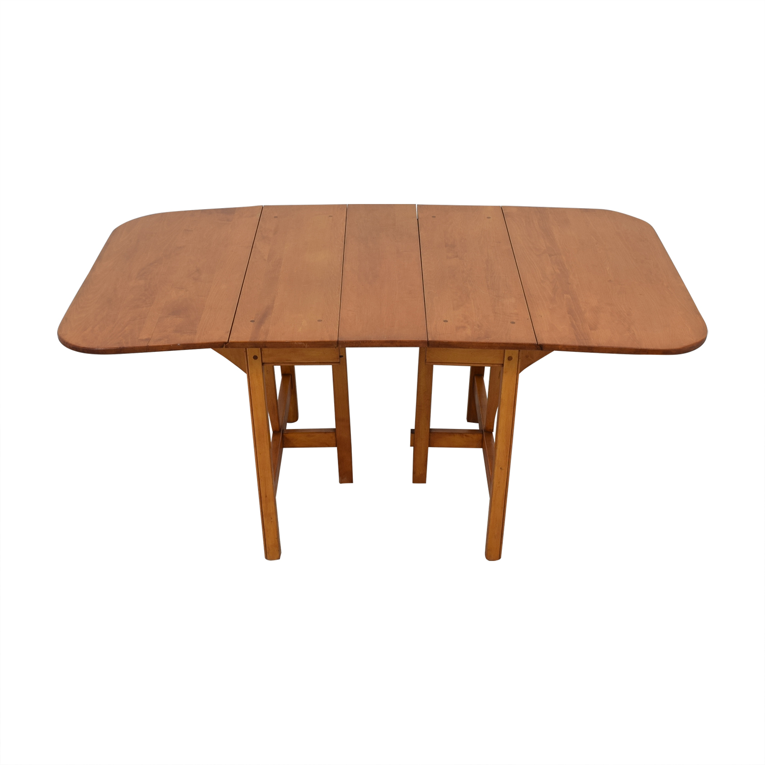 Drop Leaf Solid Maple Dinner Table dimensions
