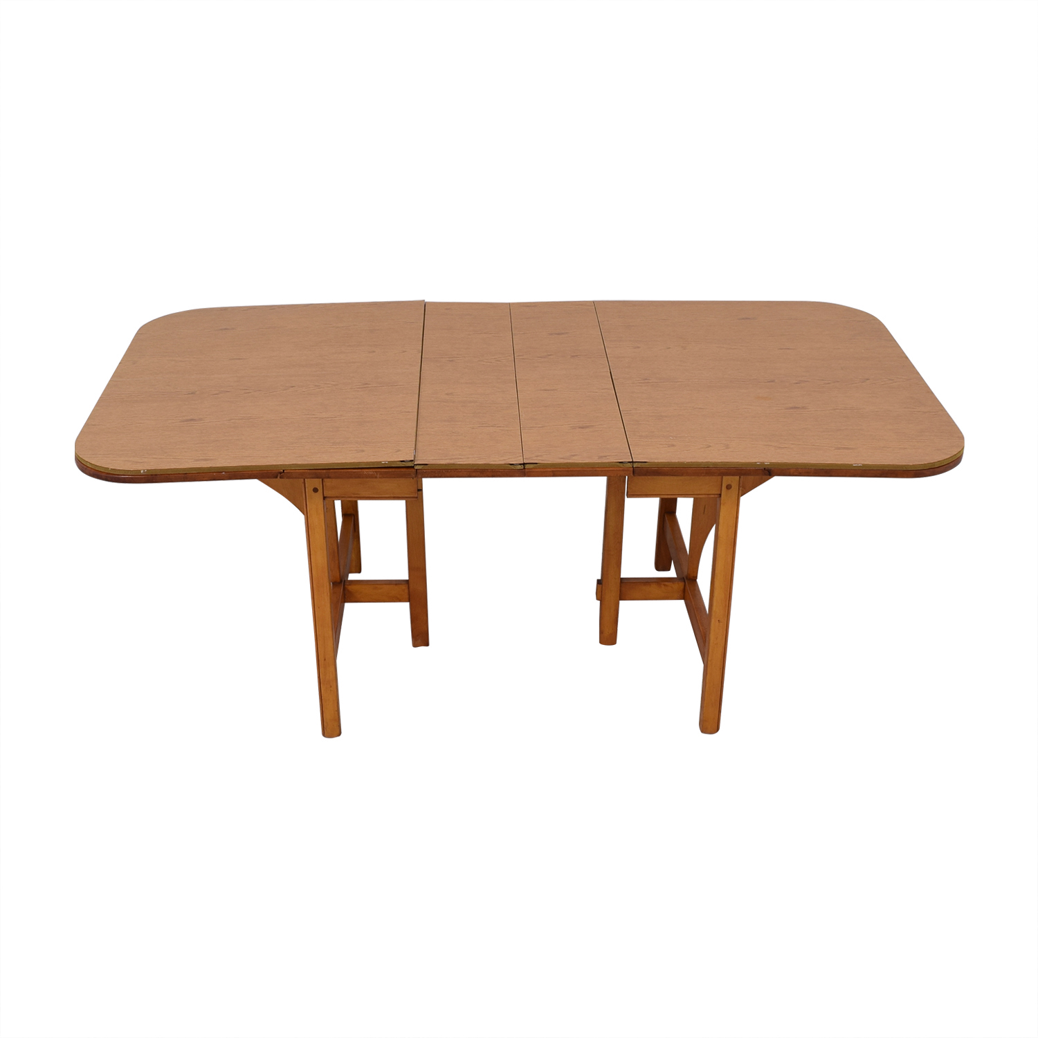 Drop Leaf Solid Maple Dinner Table coupon