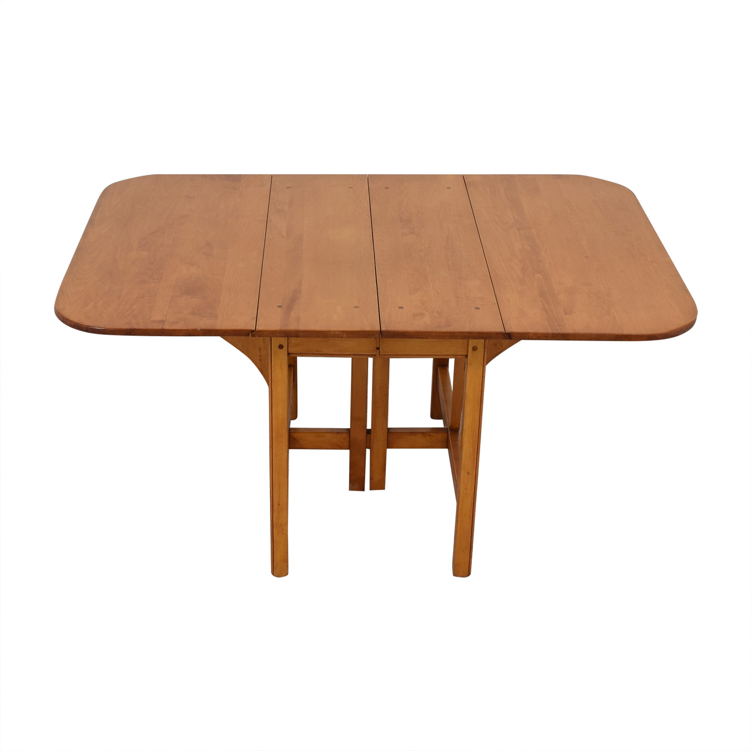 Drop Leaf Solid Maple Dinner Table price