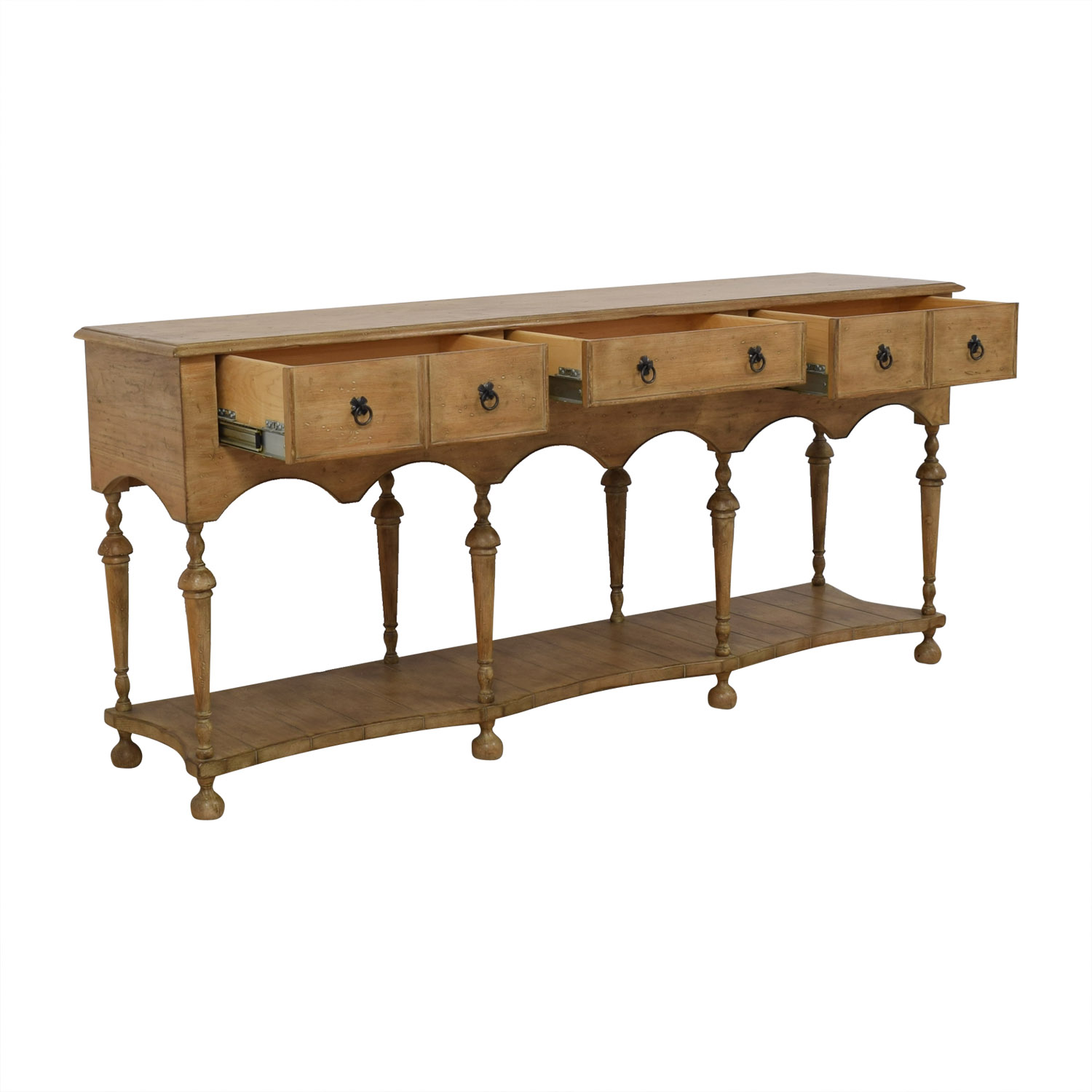 Keller Williams Furniture Keller WIlliams Furniture Solid Oak Buffet on sale