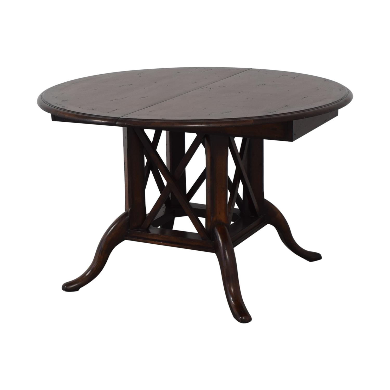 Henredon Furniture Henredon Mahogany Extension Dining Room Table nyc
