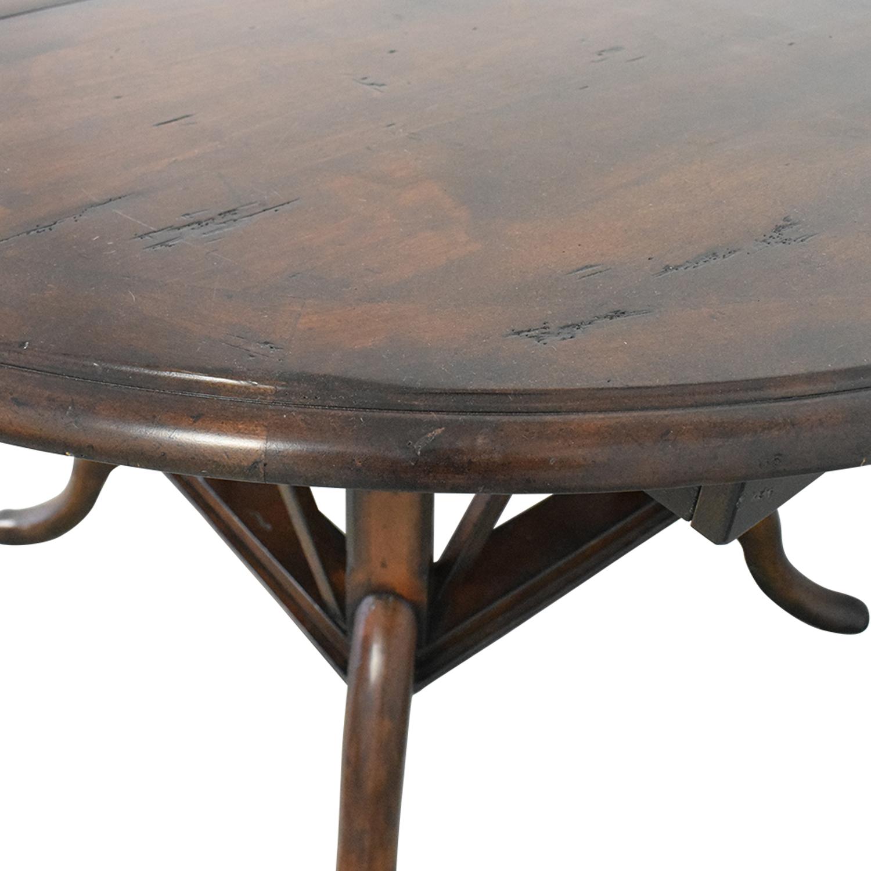 Henredon Mahogany Extension Dining Room Table Henredon Furniture