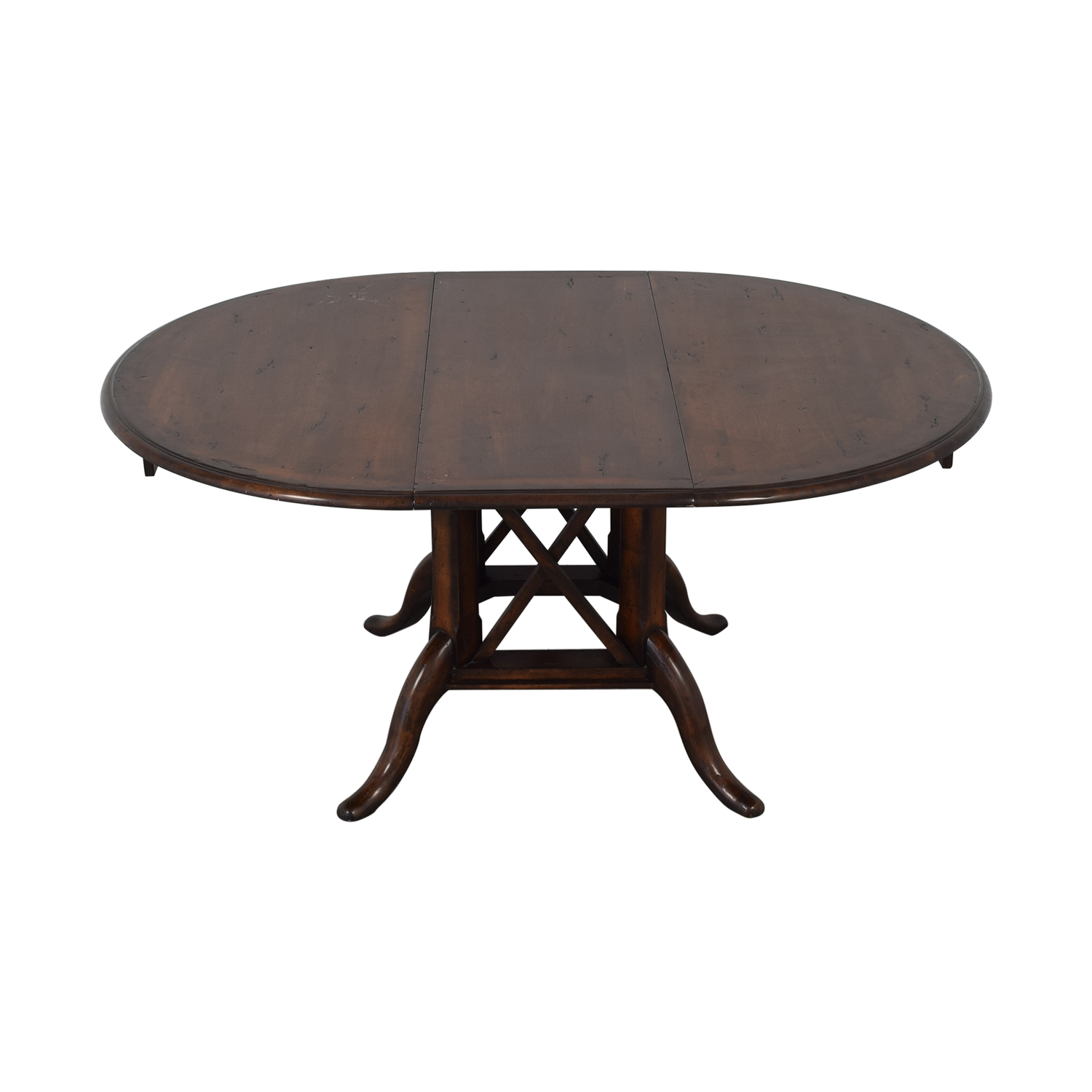 Henredon Furniture Henredon Mahogany Extension Dining Room Table dimensions