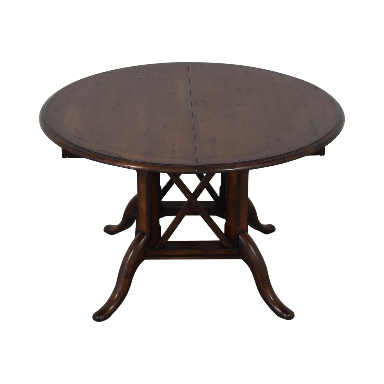 Henredon Mahogany Extension Dining Room Table / Dinner Tables