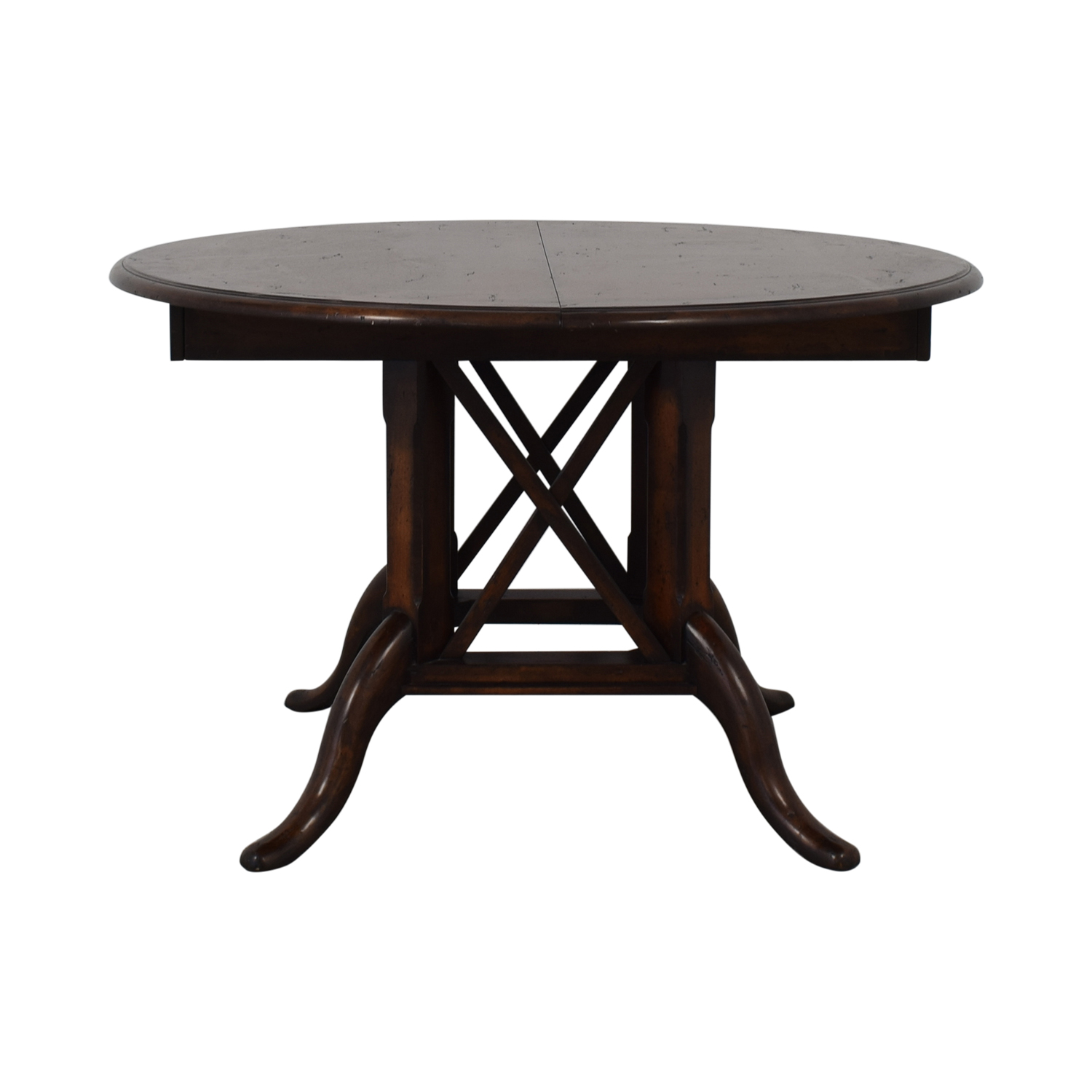 83% OFF - Henredon Furniture Henredon Mahogany Extension Dining Room Table  / Tables