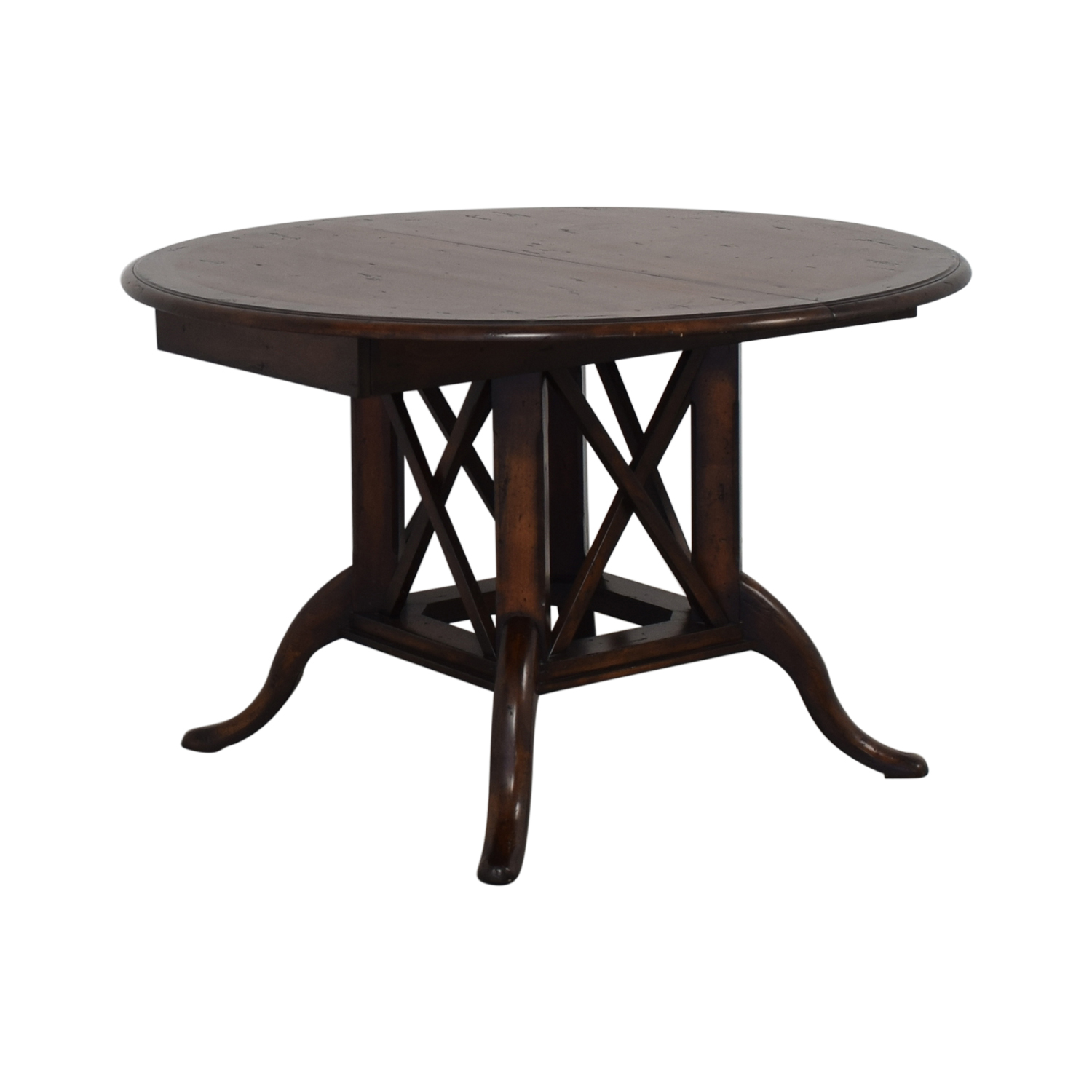 Henredon Furniture Henredon Mahogany Extension Dining Room Table for sale
