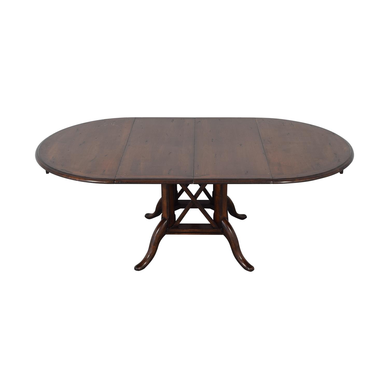Henredon Furniture Henredon Mahogany Extension Dining Room Table nj