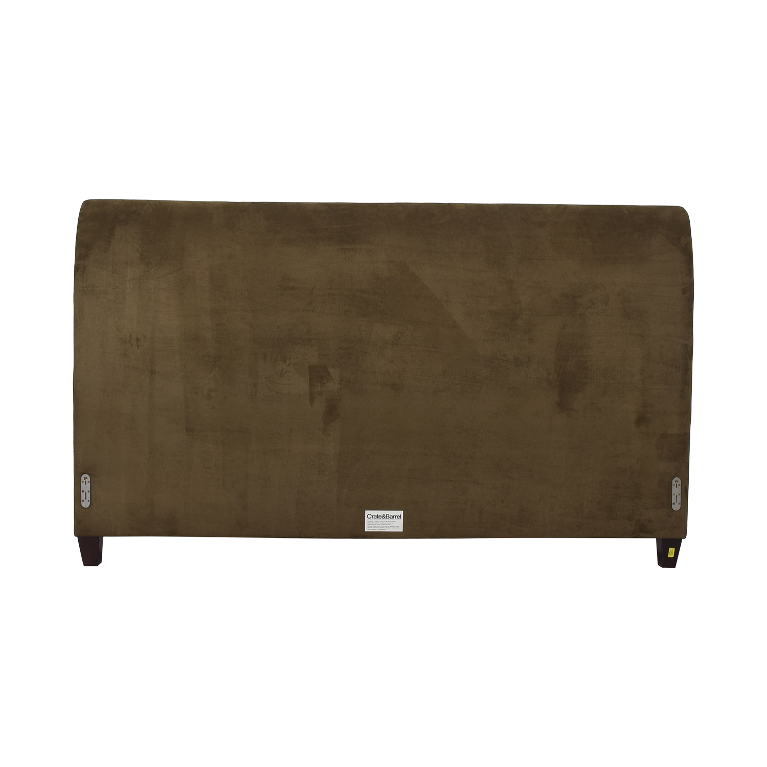 Crate & Barrel by Mitchell Gold + Bob WIlliams Ultrasuede King Fairmont Headboard / Headboards