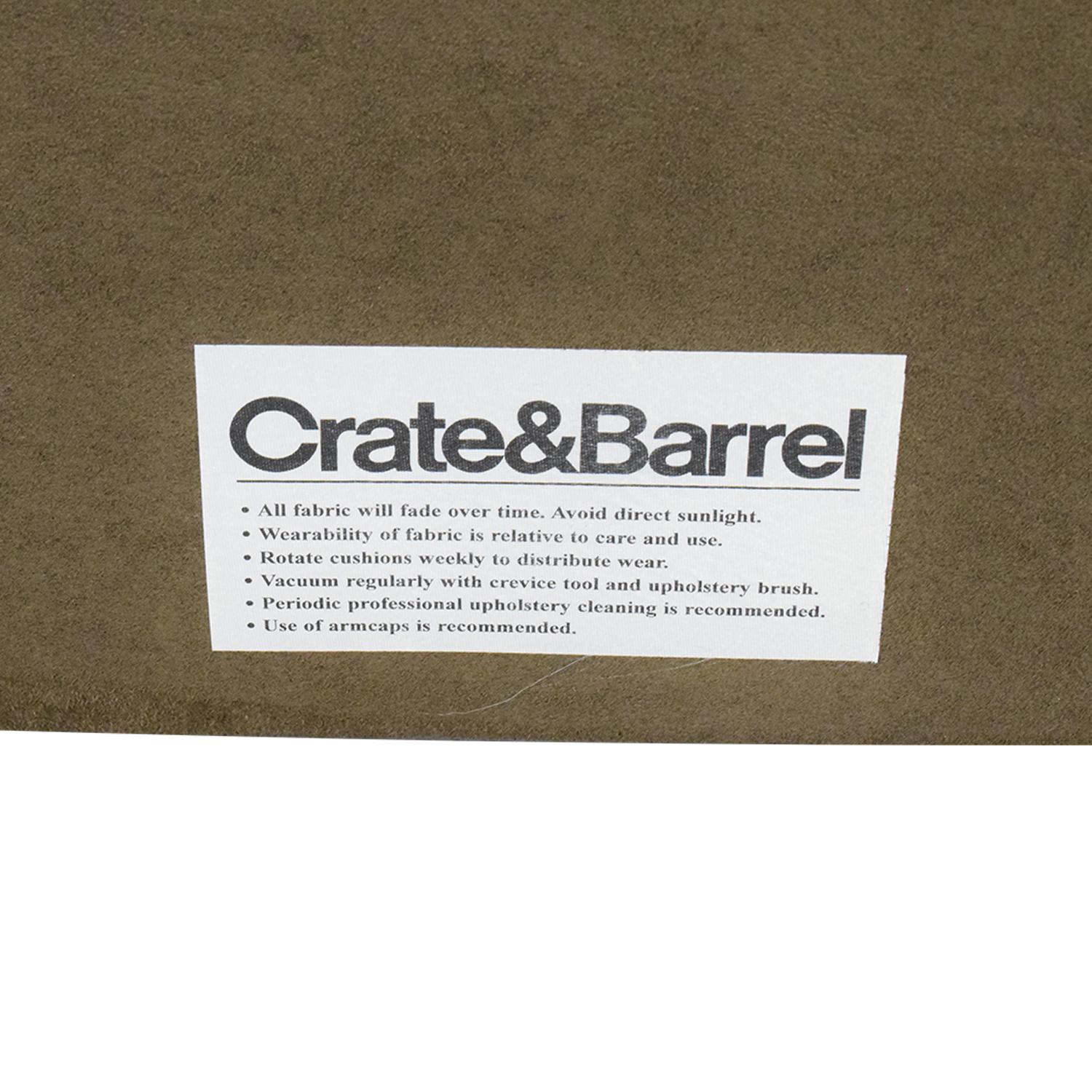 Crate & Barrel by Mitchell Gold + Bob WIlliams Ultrasuede King Fairmont Headboard sale