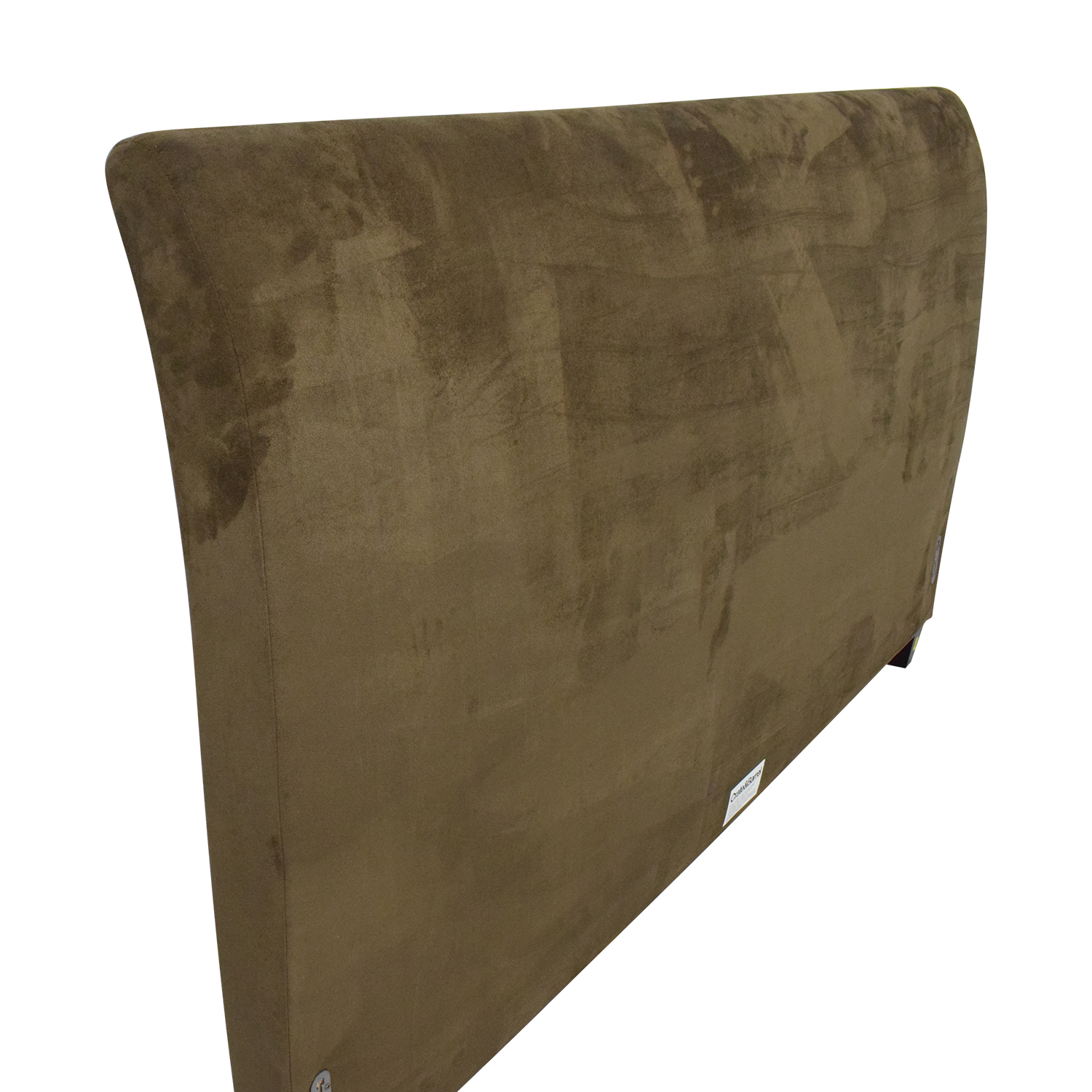 Crate & Barrel by Mitchell Gold + Bob WIlliams Ultrasuede King Fairmont Headboard / Beds