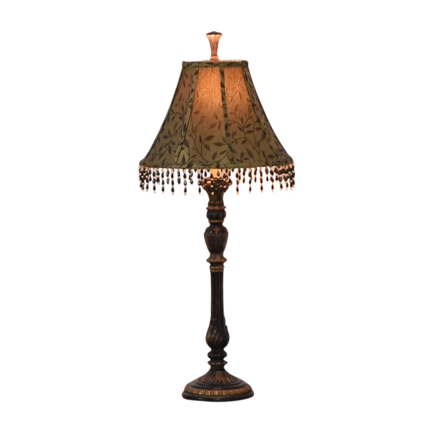 Lamp with Decorative Shade second hand
