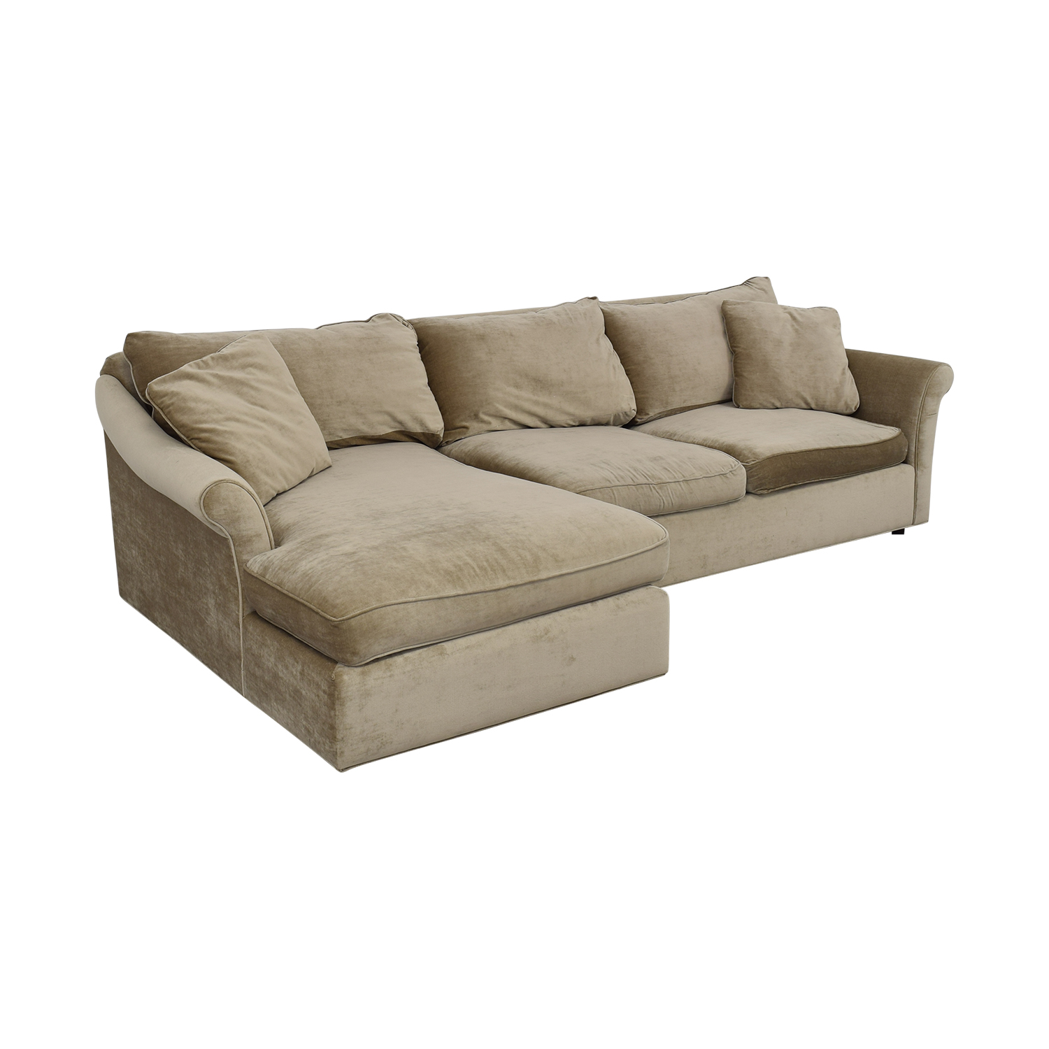 shop ABC Carpet & Home ABC Carpet & Home Winged Arm Sectional Sofa online