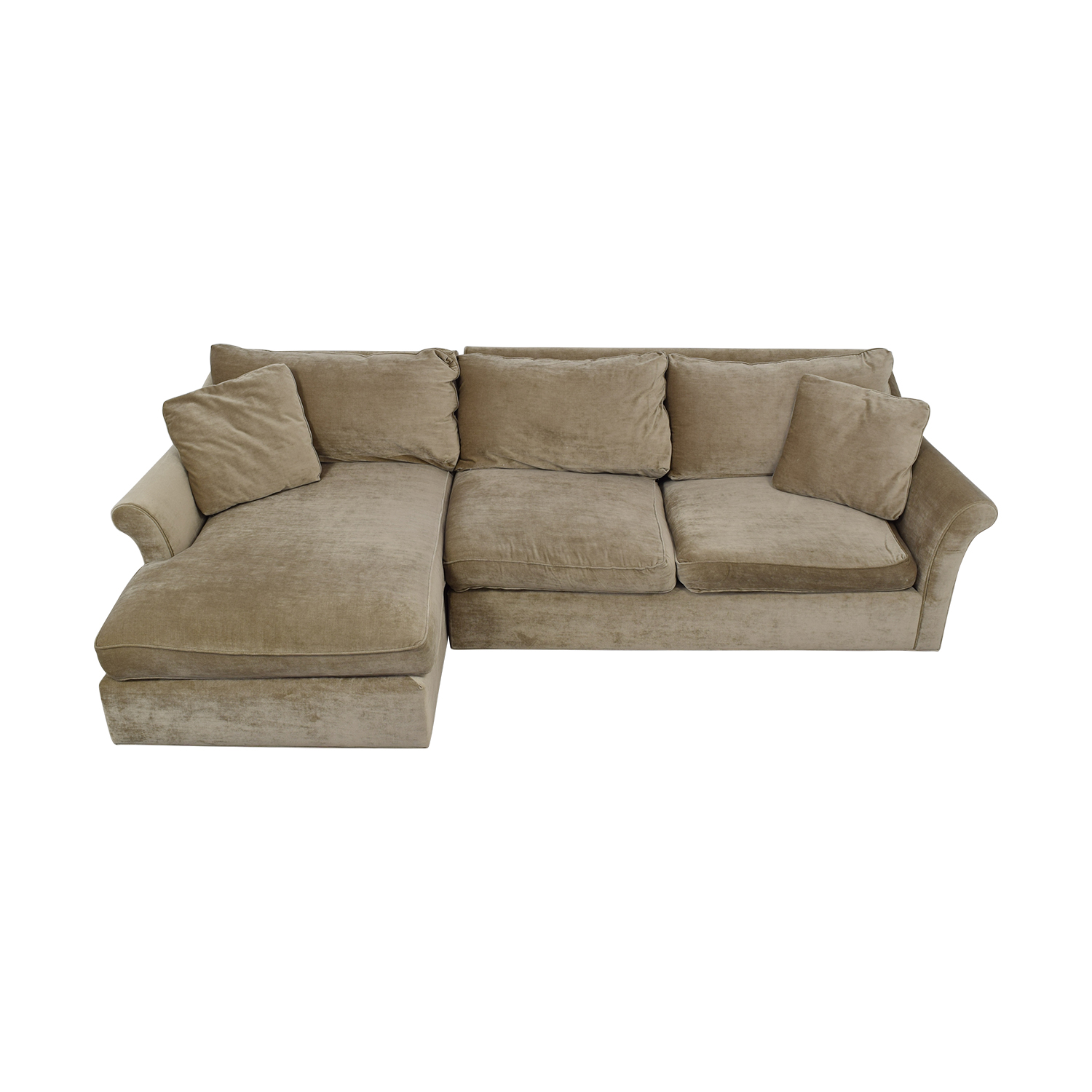 ABC Carpet & Home ABC Carpet & Home Winged Arm Sectional Sofa coupon
