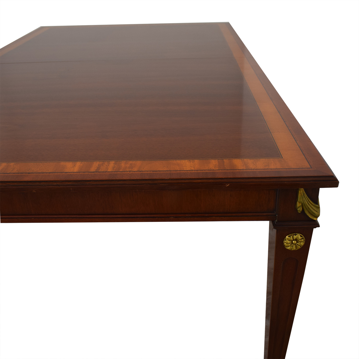 buy Kindel Mahogany Extension Dining Table Kindel Tables