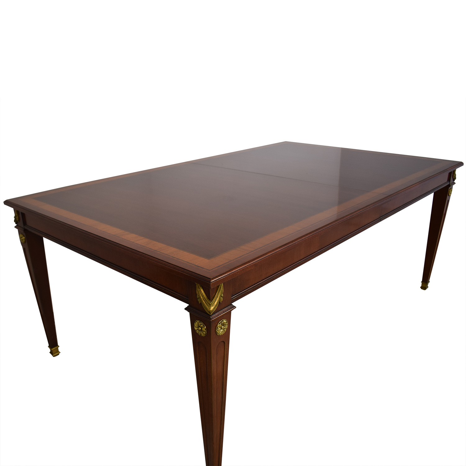 Kindel Mahogany Extension Dining Table sale