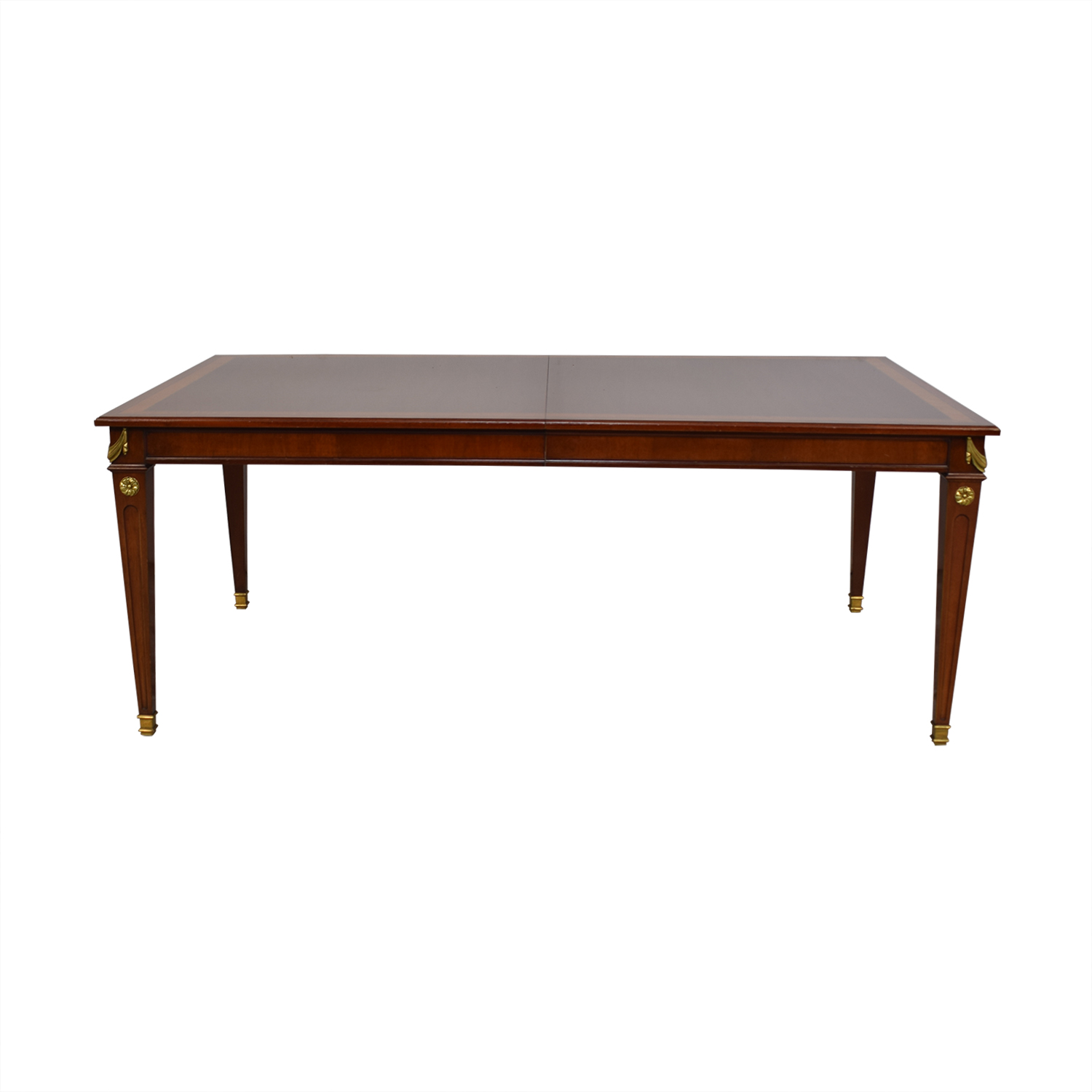 shop Kindel Kindel Mahogany Extension Dining Table online