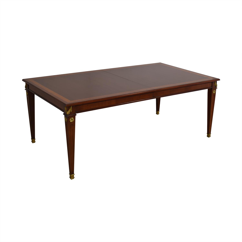shop Kindel Kindel Mahogany Extension Dining Table online