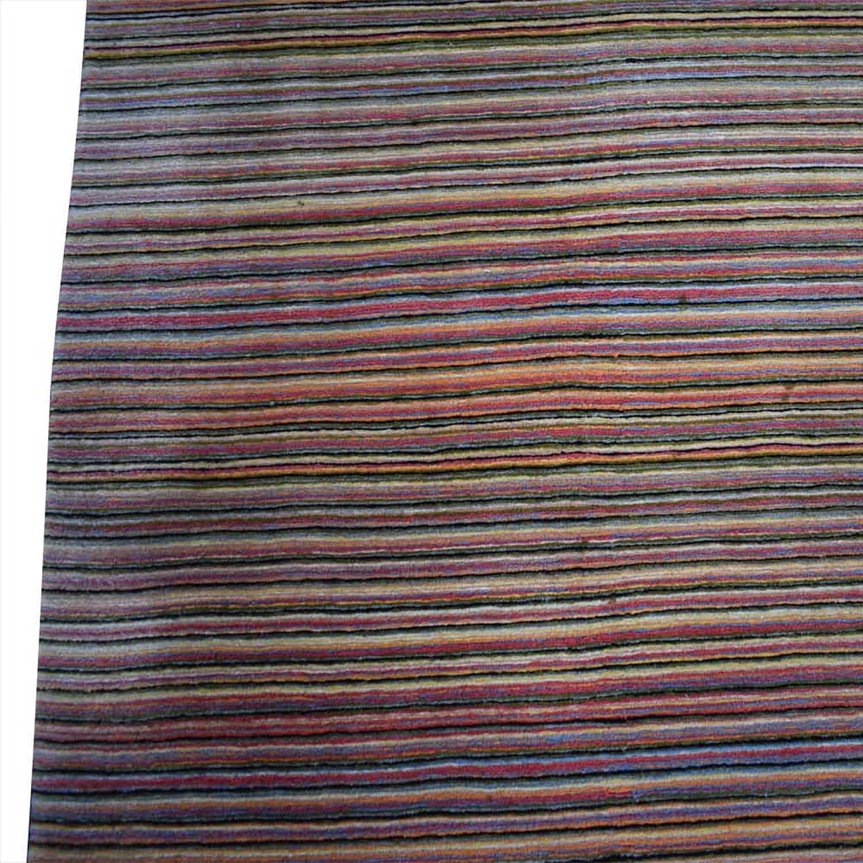 buy BDDW Thin Lines Tibetan Wool Rug BDDW