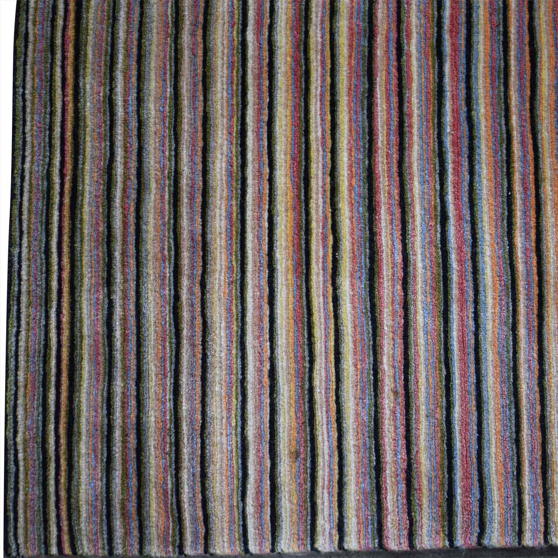shop BDDW Thin Lines Tibetan Wool Rug BDDW Decor