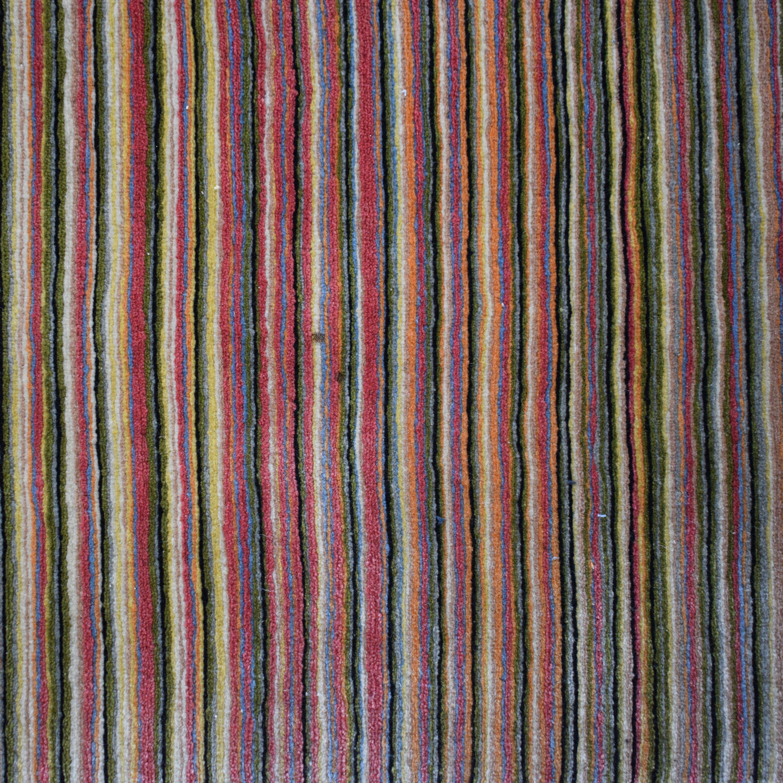 BDDW BDDW Thin Lines Tibetan Wool Rug