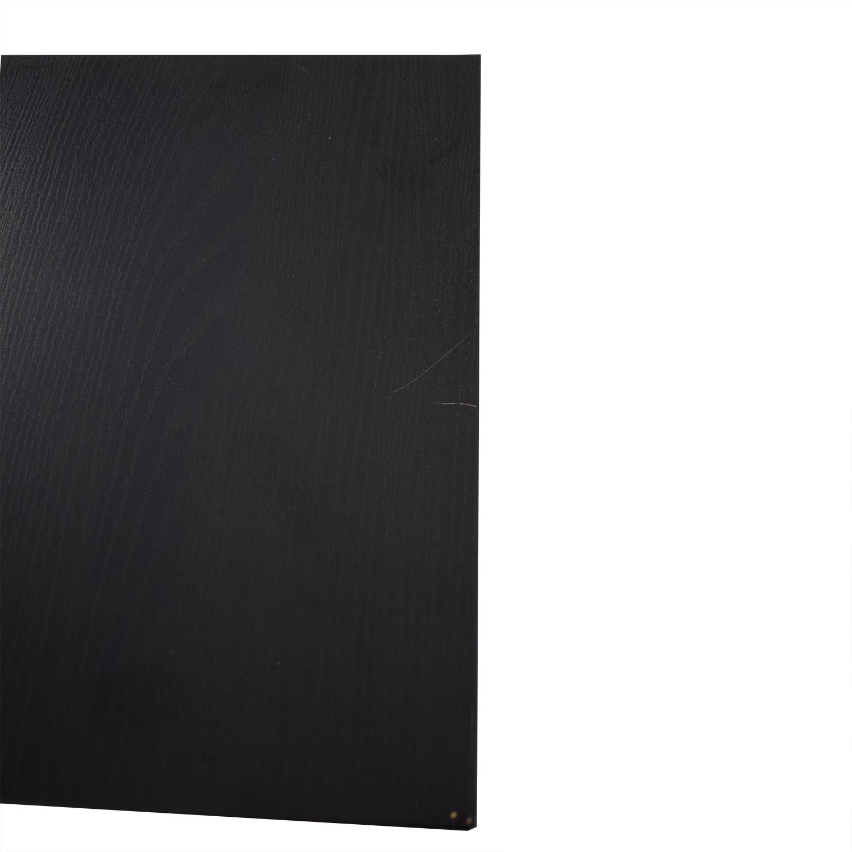 Staples Black File Cabinet / Storage