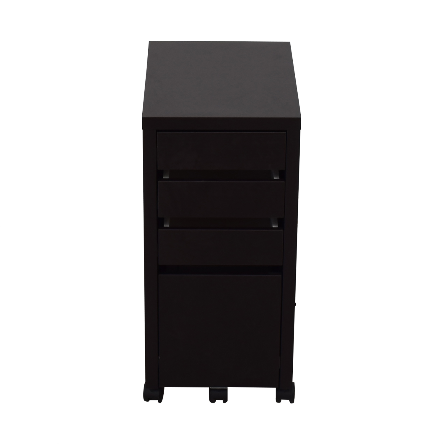 free shipping a6f36 89029 74% OFF - Staples Staples Black File Cabinet / Storage