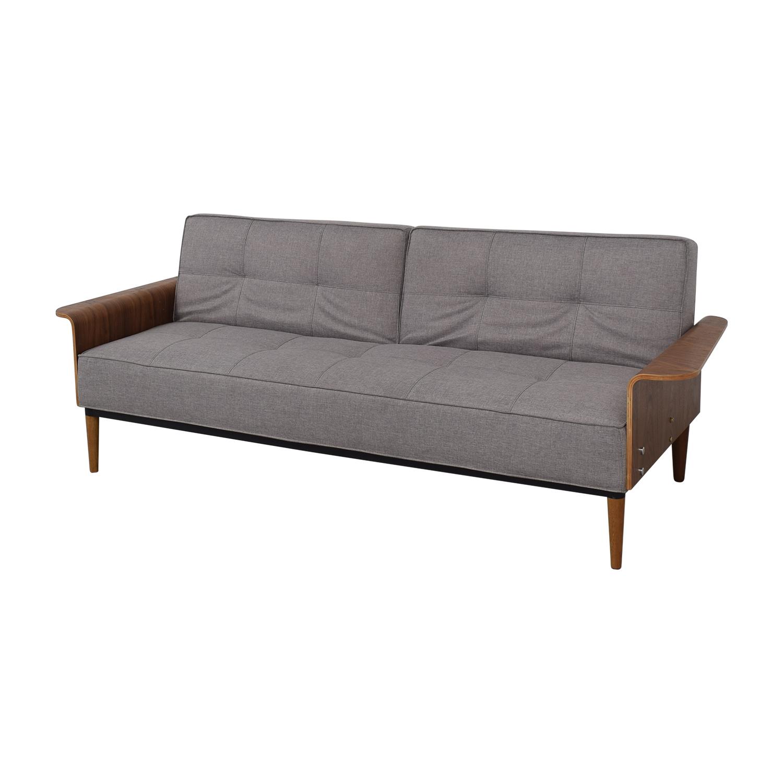 shop Inmod Bjorg Convertible Sofa Inmod